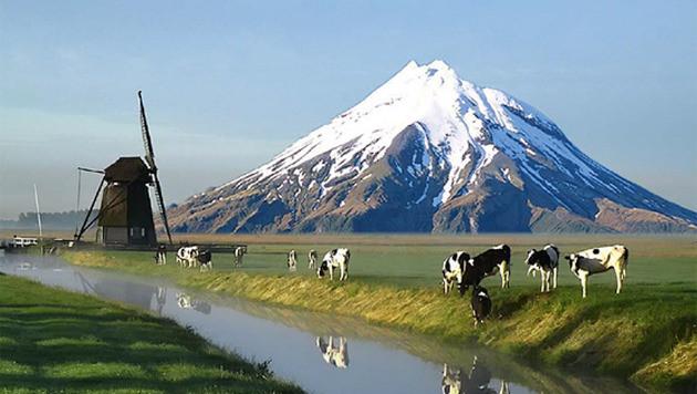 Impressie van de Nederlandse berg