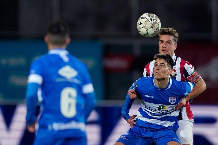 Slobodan Tedic krijgt zijn eerste basisplaats bij PEC Zwolle.