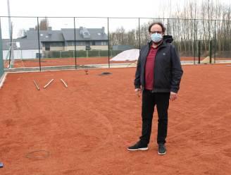 Tennissen kan vanaf dit weekend op gloednieuwe terreinen