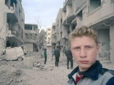 Tiener toont via selfies gruwel van Syrisch conflict in Oost-Ghouta