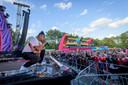 Ronnie Flex  hier in 2019 op het podium op Het Rutbeek