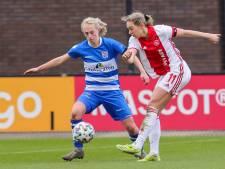 Gevoelig verlies voor PEC Zwolle Vrouwen: Van den Goorbergh en Bennink vertrekken