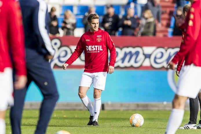 Jordens Peters is na een jaar blessureleed terug bij Willem II.