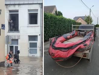 """Dieven stelen motorboot waarmee Marc zes families van overstroming redde: """"Ik ben er doodziek van"""""""