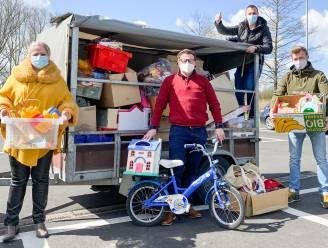 Inzamelactie van N-VA Oudenaarde levert karrevracht aan speelgoed op