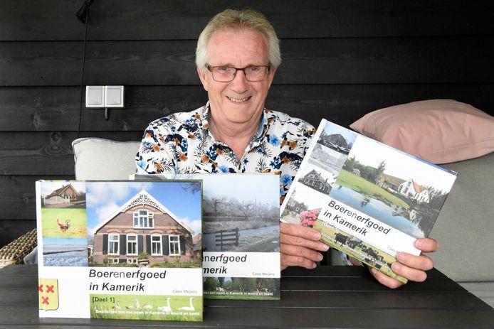 Cees Meijers schreef een derde boek over het boerenerfgoed in Kamerik.