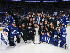 IJshockeyers Tampa Bay Lightning veroveren opnieuw Stanley Cup