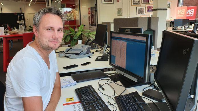 Ronnie Vermonden is chef nieuws bij BN DeStem