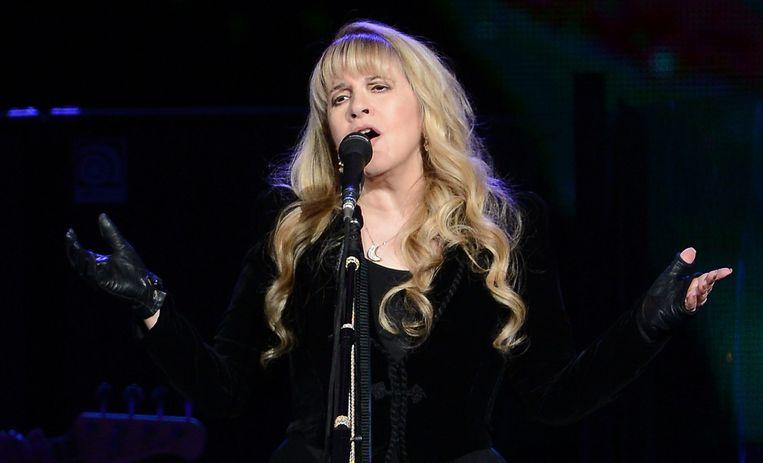 Stevie Nicks geeft een concert in Berlijn, 2013. Beeld EPA