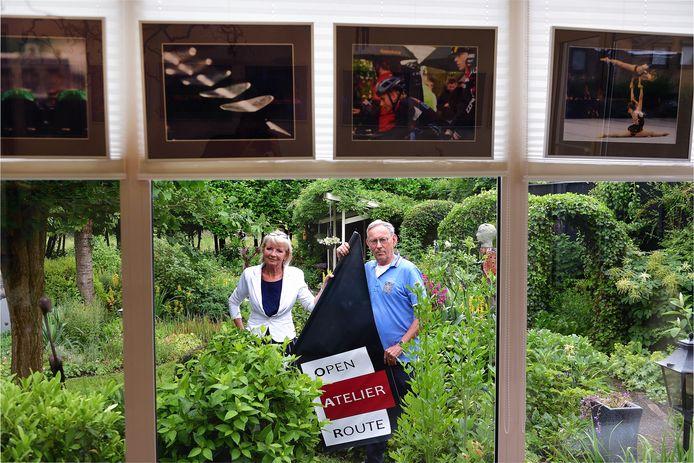 Ineke Duyndam-Kester en Piet van Aaken zijn er klaar voor: in september wordt weer de Open Atelier Route gehouden.