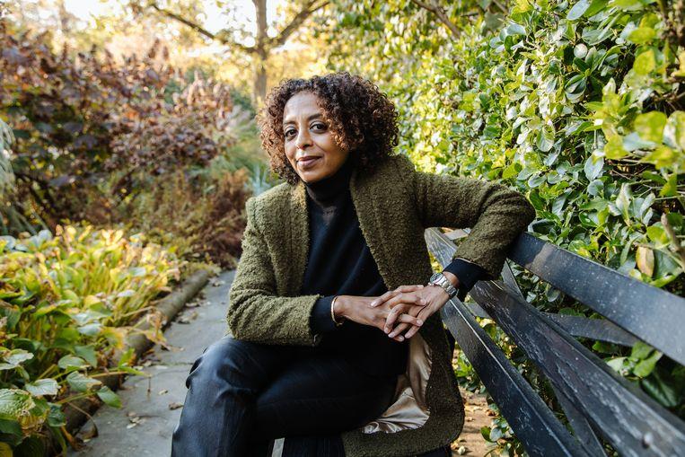 Maaza Mengiste in New York, eind 2020. Beeld NYT