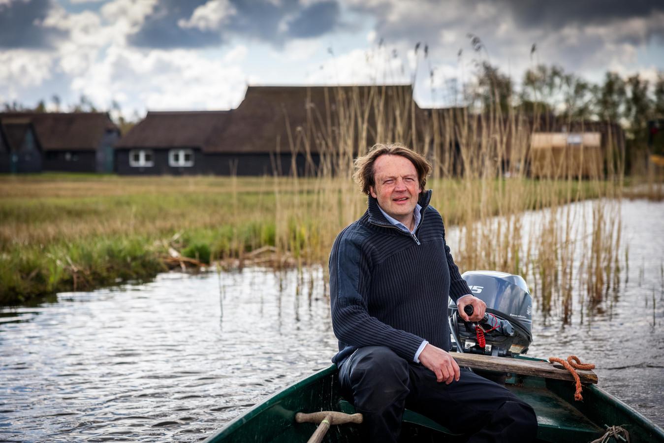 Harold Viscaal, directeur Weerribben-Wieden.