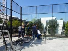 Padelbanen bij tennispark De Krekel bijna klaar