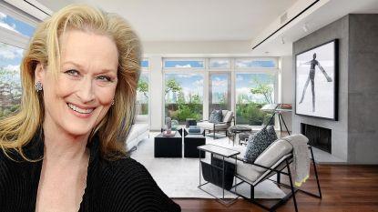 BINNENKIJKEN. Meryl Streep zet haar penthouse te koop voor 16,5 miljoen euro
