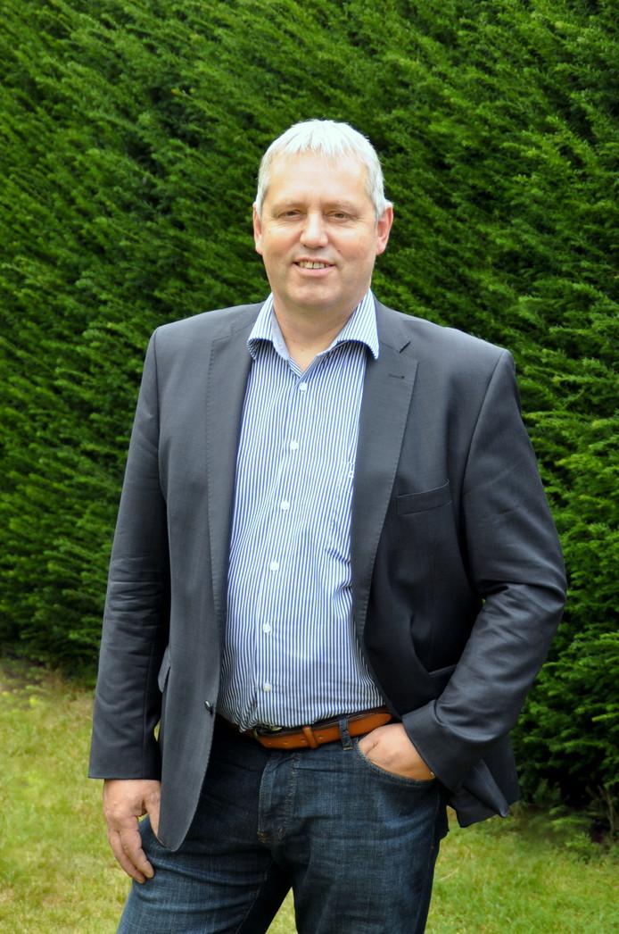 Jos van den Boogaart, lijsttrekker AB'90 in de gemeente Mill en Sint Hubert