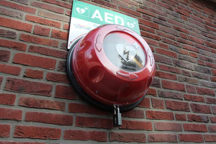 Voorbeeld van een AED.