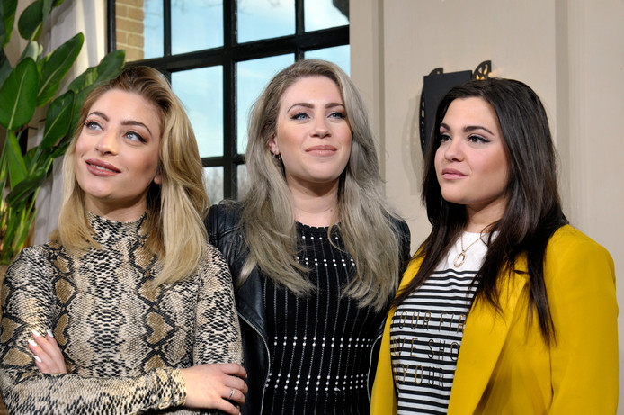 Vlnr: Amy, Lisa en Shelley Vol (OG3NE)
