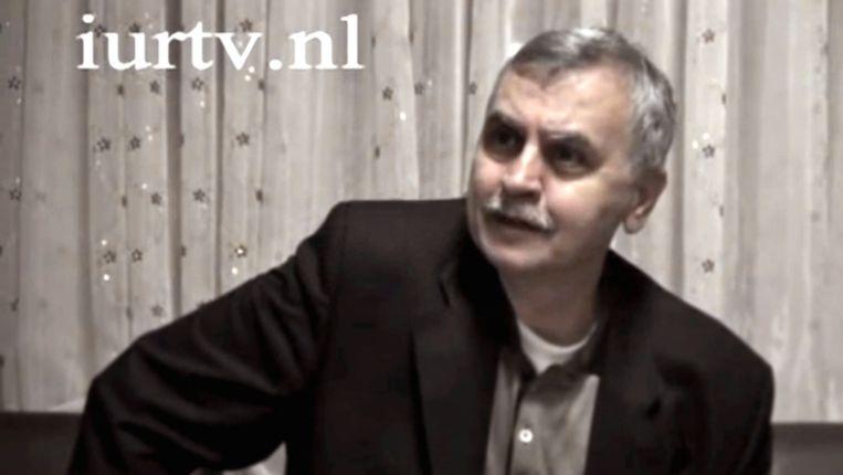 Ahmet Akgünduz. Fragment uit een filmpje van de Islamitische Universiteit Rotterdam. Beeld IURTV