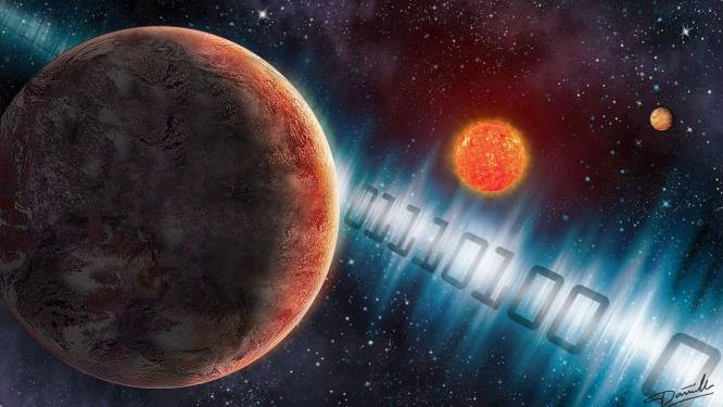 We hebben net boodschap verstuurd naar mogelijk buitenaardse leven op 'superaarde' en over 26 jaar kunnen we al antwoord hebben