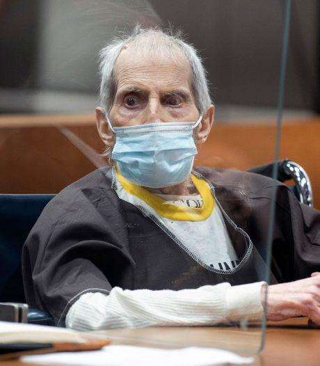 Amerikaanse vastgoedmiljonair Durst krijgt levenslang voor per ongeluk op tv bekende moord
