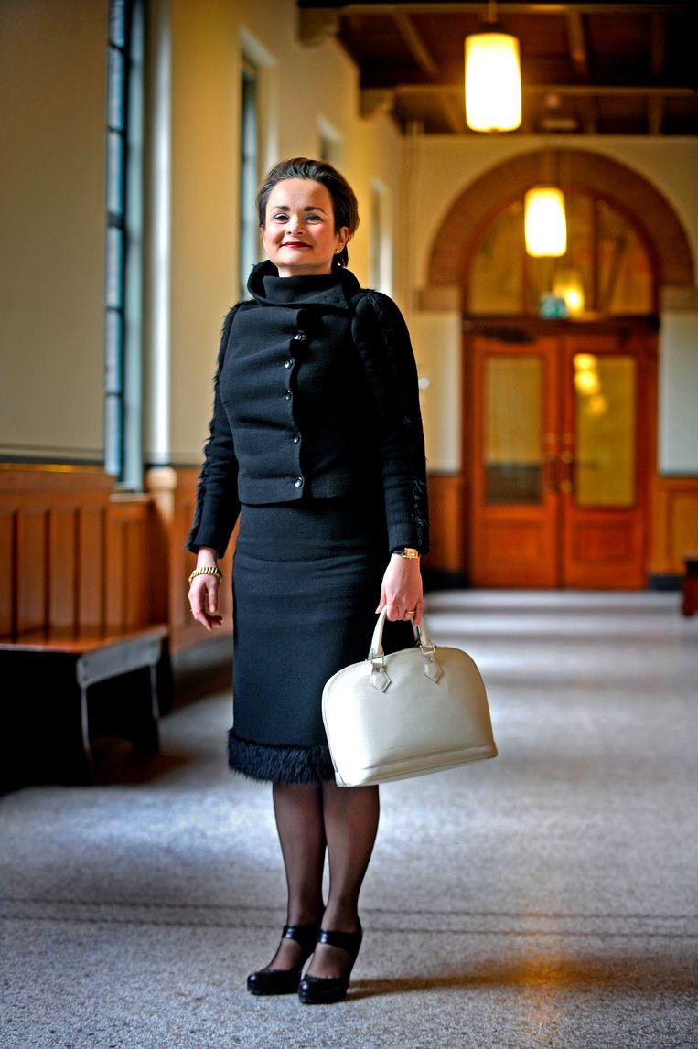 Alexandra C. van Huffelen gaat zich ontfermen over de toeslagenaffaire. Beeld Raymond Rutting