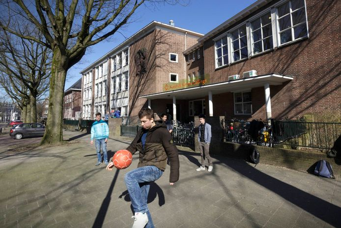 Archieffoto Karel de Grote College. foto Gerard Verschooten