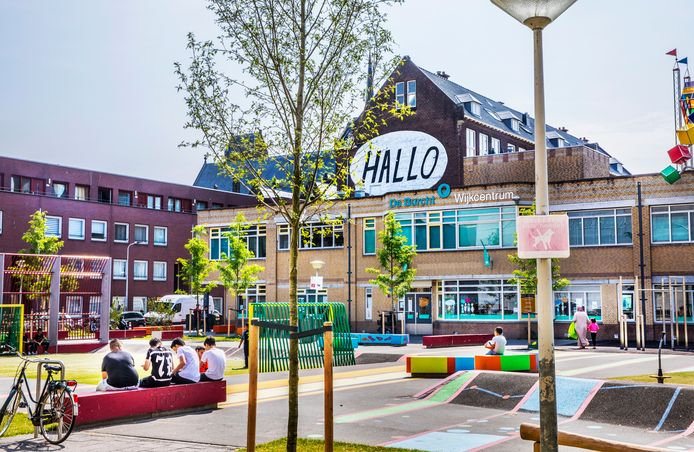 Wijkcentrum de Burcht in de Haagse Stortenbekerstraat.