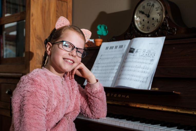 Norah Francken is één van de tien geselecteerde kinderen voor The Best of Musicals in Concert