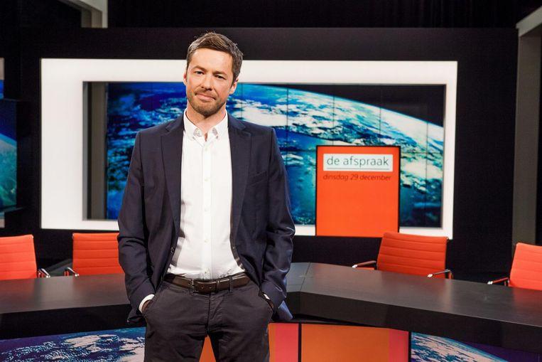 Bart Schols blijft actief als presentator van 'De afspraak'.