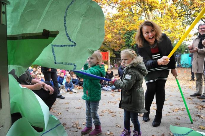 Opening van het Dalton Kindcentrum in Oost-Souburg.