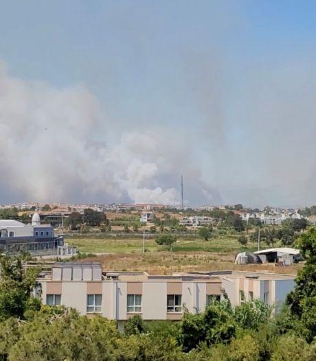 La région d'Antalya touchée par des feux de forêt