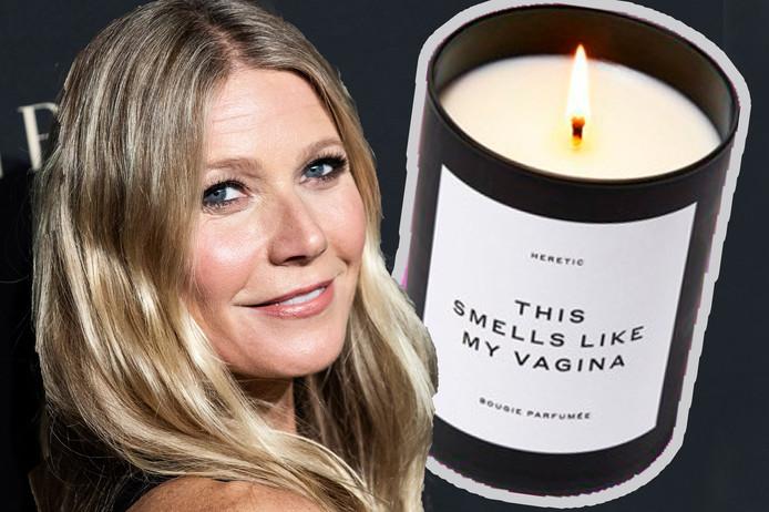 De peniskaars kwam op de markt naar aanleiding van Gwyneth Paltrow vaginavariant.