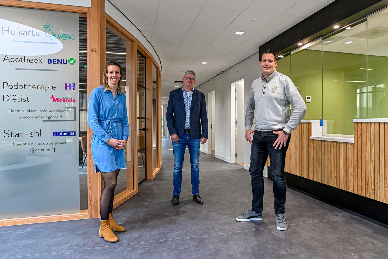Op 30 november opent in Etten-Leur een nieuw gezondheidscentrum; De Wiek. Verschillende huisartsen verhuizen daar naar toe. (Foto: vnlr Sabina van Waes, Maarten Stammers en Sebastiaan Haze)