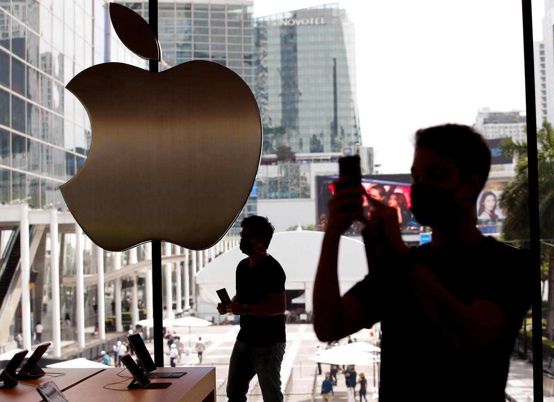 Logo van Apple.