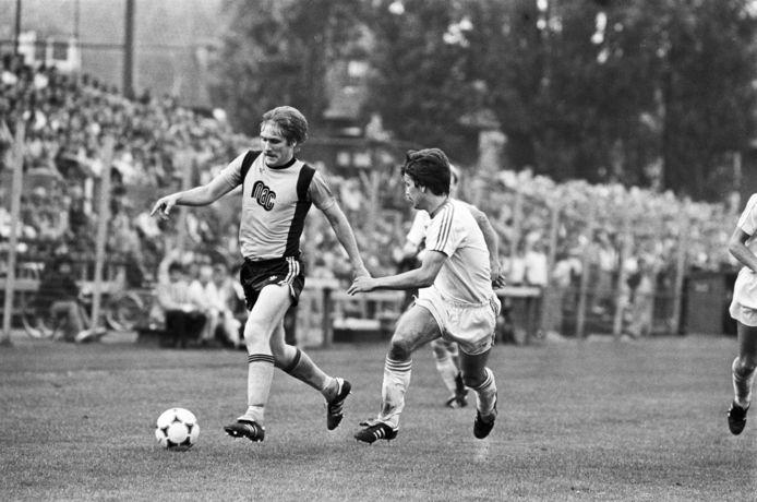 NAC - FC Groningen (4 - 2) in 1981