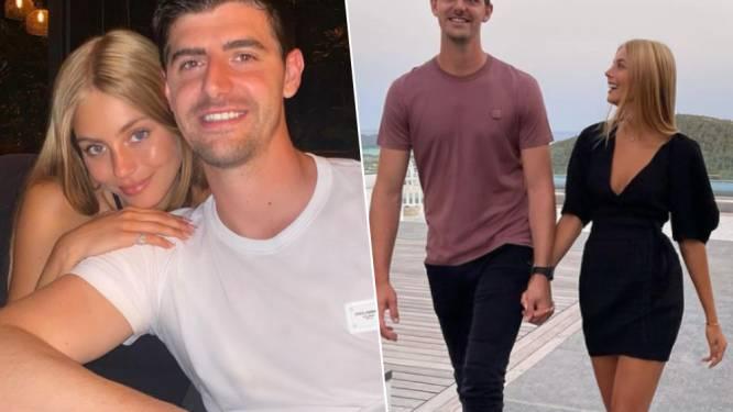 """""""Liefde van mijn leven"""" - """"Mi amor"""": Thibaut Courtois en Israëlisch model Mishel Gerzig maken relatie officieel"""