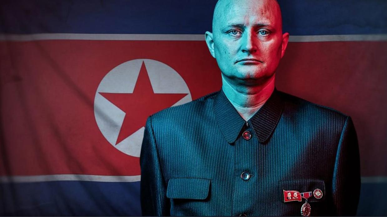 Ulrich Larsen in de documentaire 'The Mole: Undercover in North Korea' Beeld VPRO