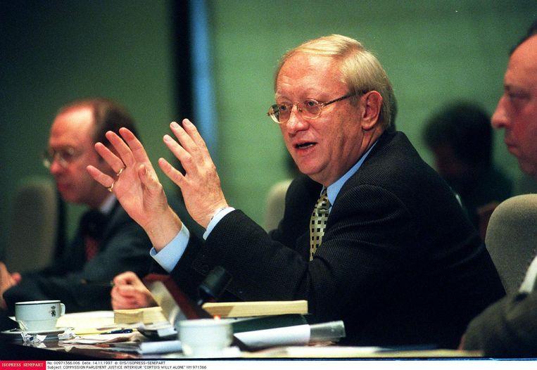 Van 1984 tot 2007 zetelde Cortois in de Kamer als fractieleider van de toenmalige PVV.