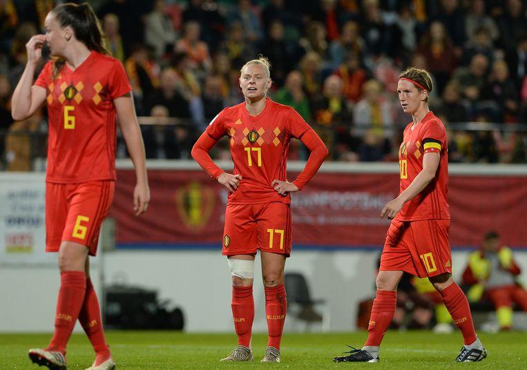 Zeler (rechts), Van Kerkhoven (midden).