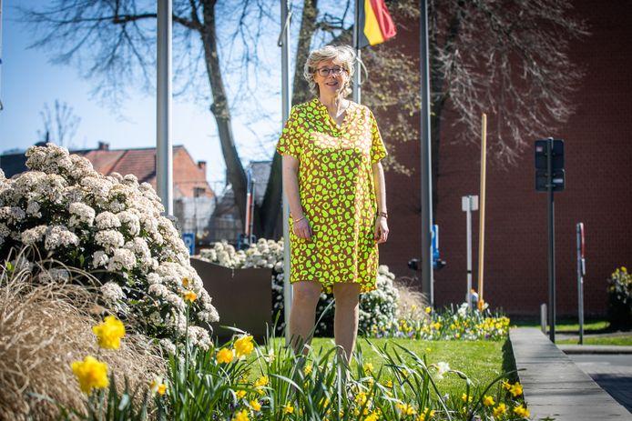 Veerle Heeren, burgemeester van Sint-Truiden.