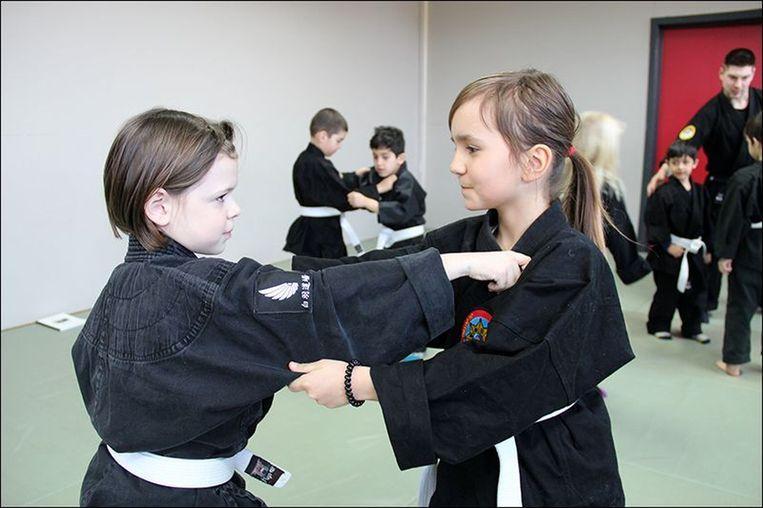Zelfverdediging voor kinderen (foto Genbukan)