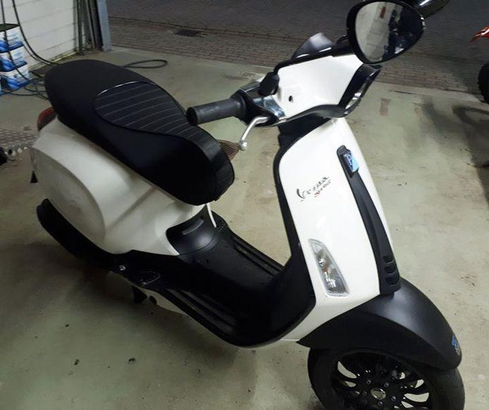 Foto ter illustratie. Dit is niet een foto van de teruggevonden scooter.