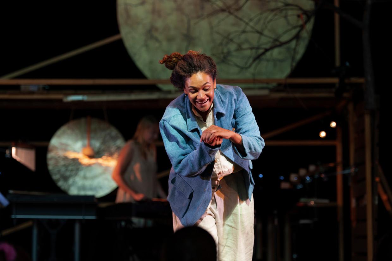 De voorstelling 'Goud' van De Nationale Opera.  Beeld Tonnie van Gessel
