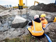 'Onverwoestbare' bunker tijdens verplaatsen in tweeën gebroken