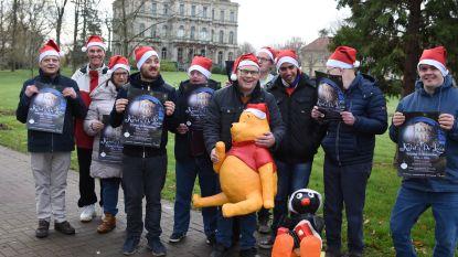 De Lovie wordt omgetoverd tot een kerstparadijs