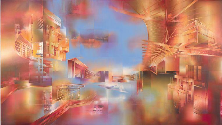 Perisphere (2019) van Martin Kobe. Beeld