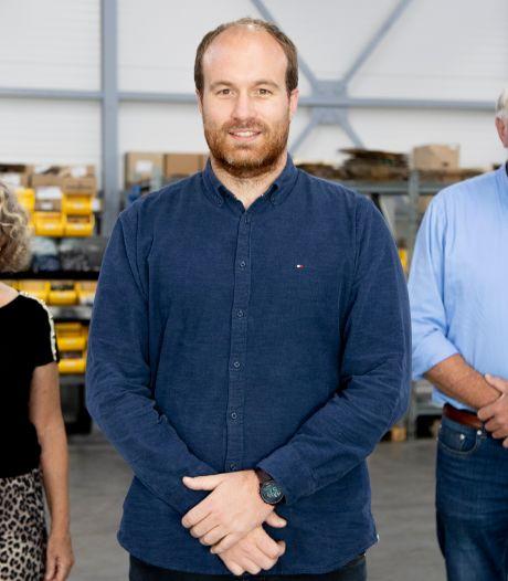 Ruben neemt stokje over van Dini en Egbert: cirkeltje is rond voor Hydrauliek BV uit Rijssen
