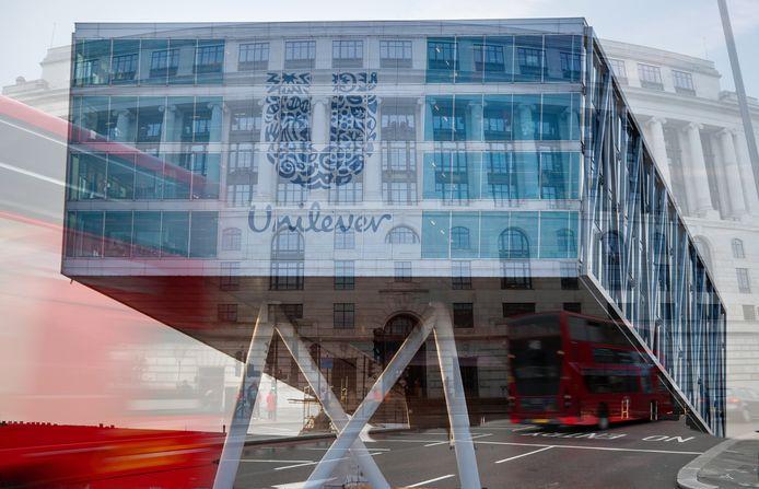 Het hoofdkantoor van Unilever in Rotterdam en in Londen.