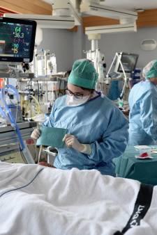250 patients Covid sont aux soins intensifs et il y a plus de 100 admissions à l'hôpital par jour