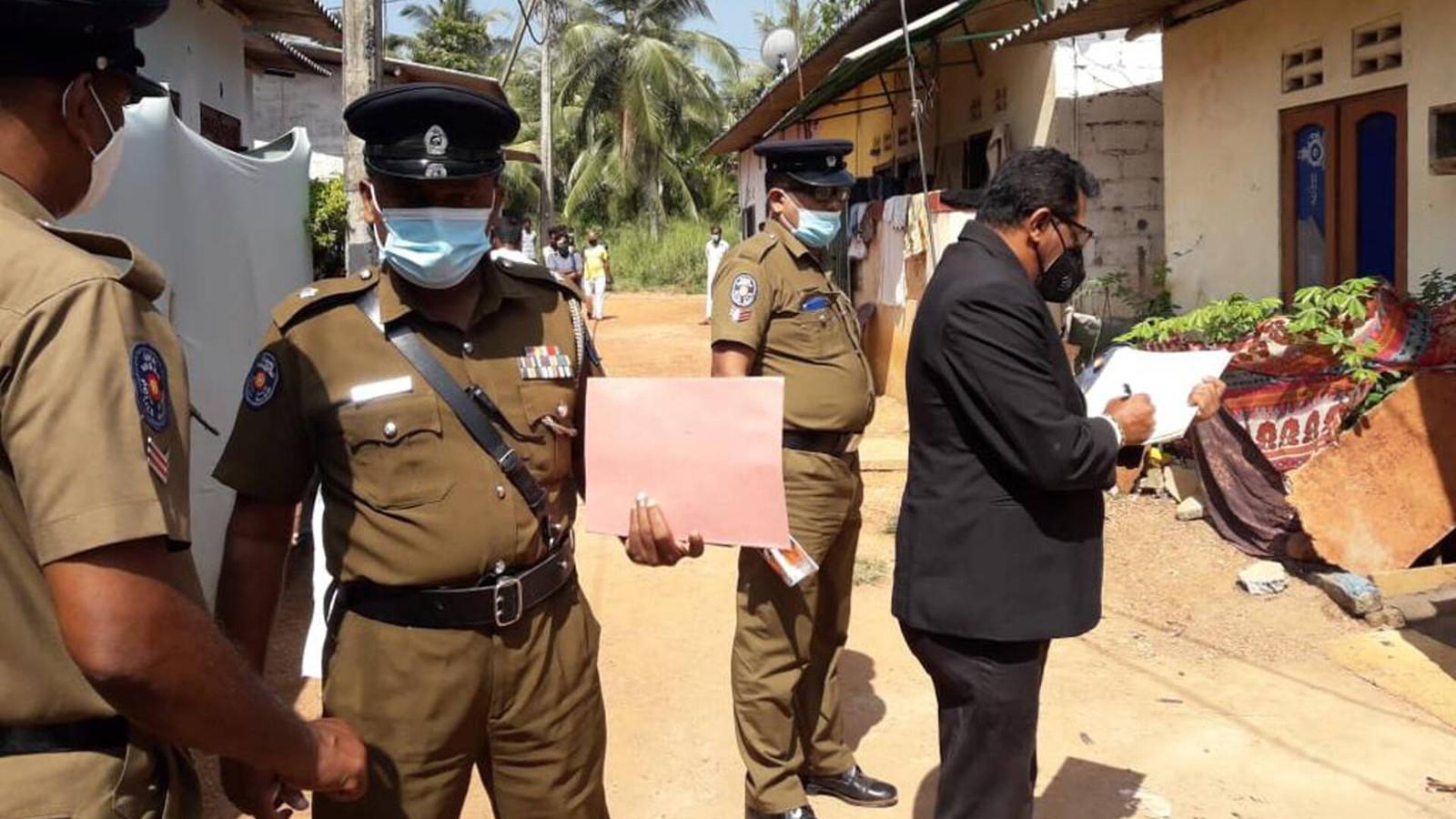 Politie doet onderzoek naar dood van meisje in Sri Lanka.